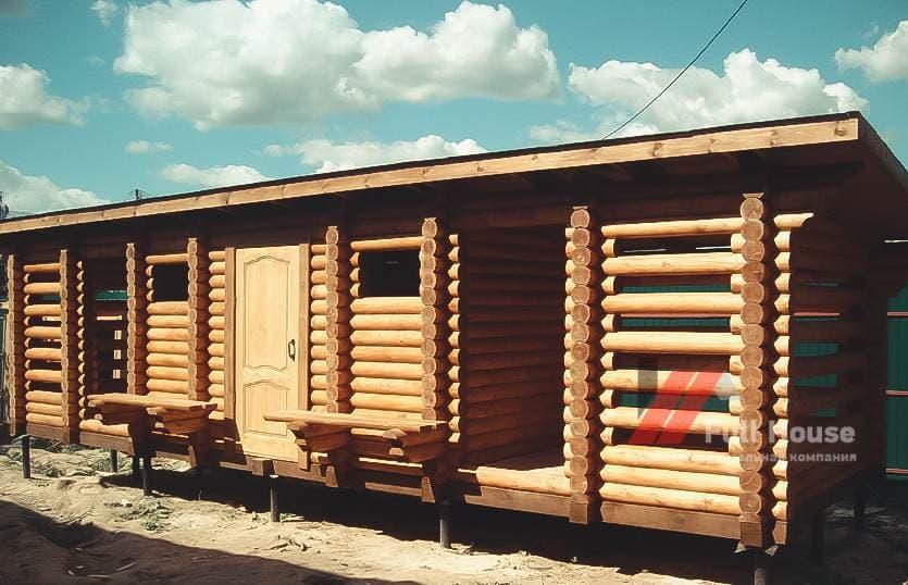 Дачный хозблок, дровник для бани, купить. Новосибирск