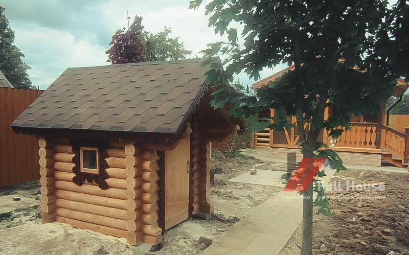 Деревянный домик из бруса Новосибирск