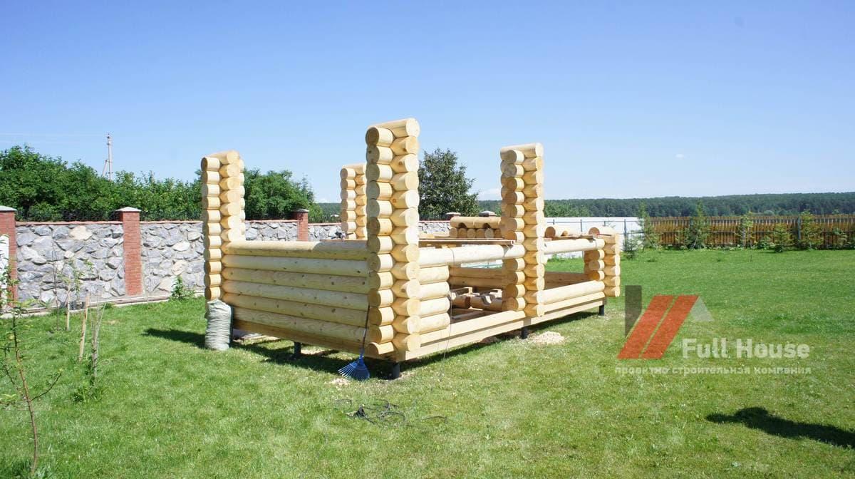 Строительство деревянной беседки под ключ