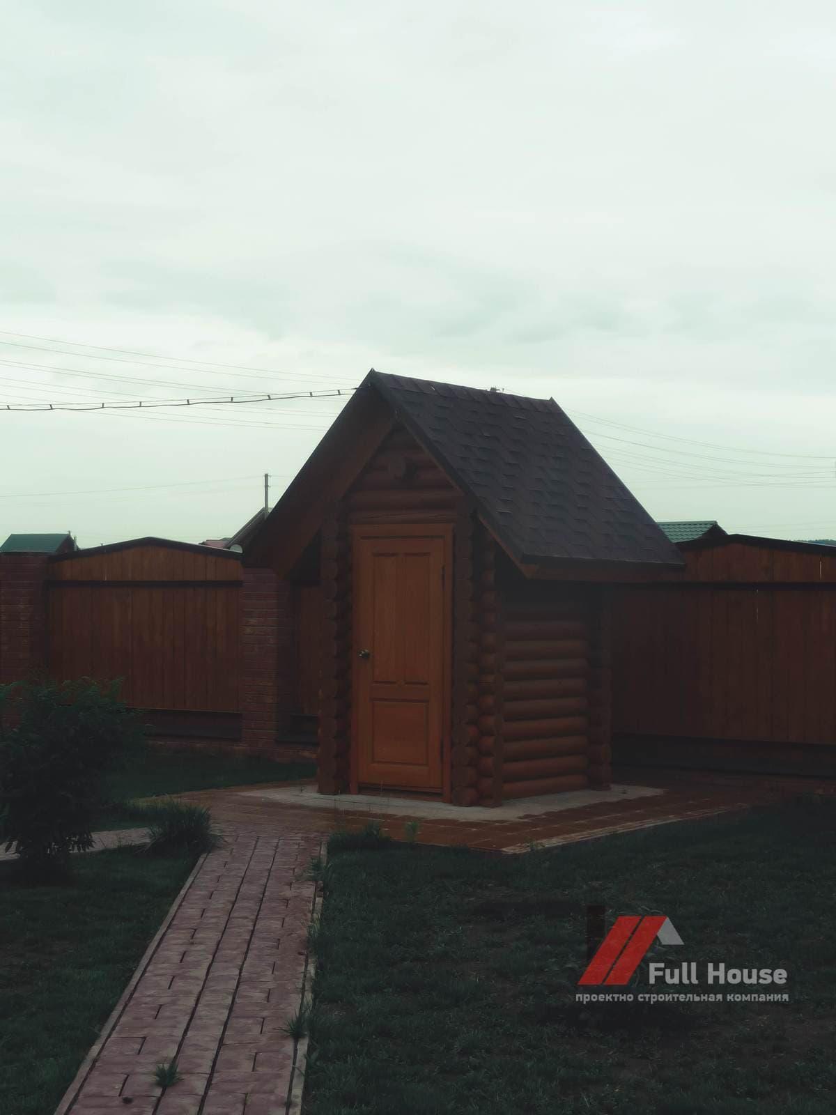 Купить туалет деревянный дачный в НСК
