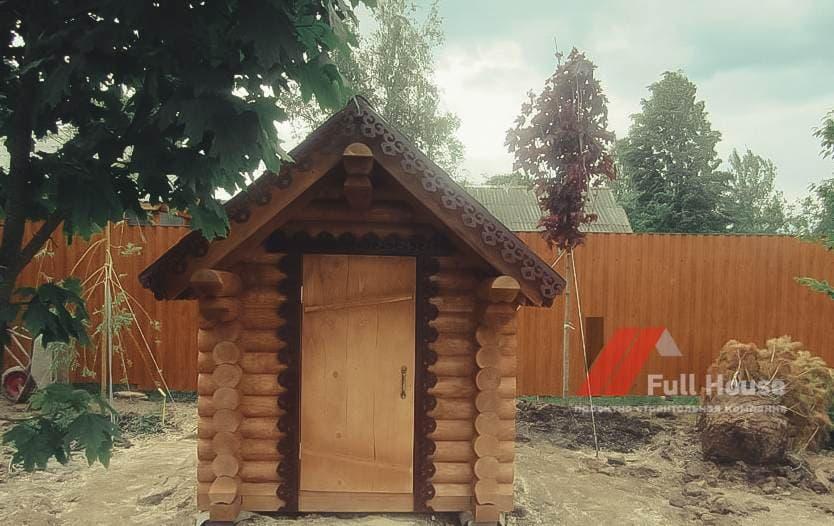 Домик из дерева для девочки купить в Новосибирске