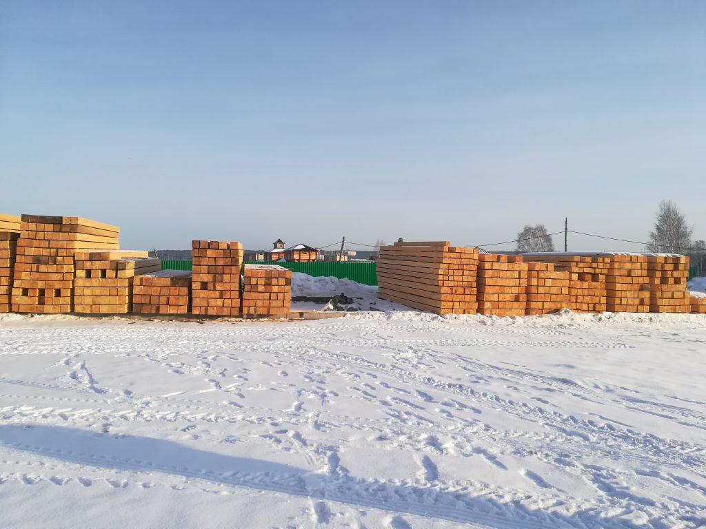 Профилированный брус зимней валки: кедр и сосна. Новосибирск: ▶ (з8з) 299-90-77