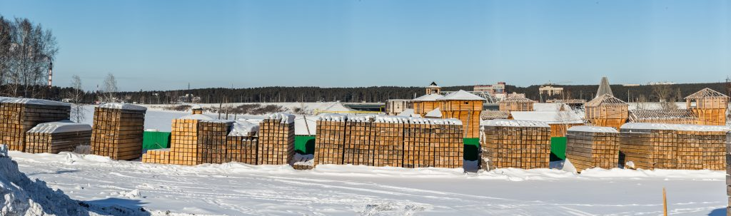 Заказать профилированный брус от производителя. Новосибирск и Бердск  ▶ (з8з) 299-90-77